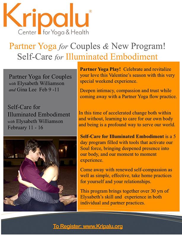 Kripalu - PartnerYoga for Couples
